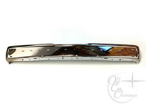 NOS-1984-1992-Lincoln-Mark-VII-Chrome-Rear-Bumper-E4LY17906A