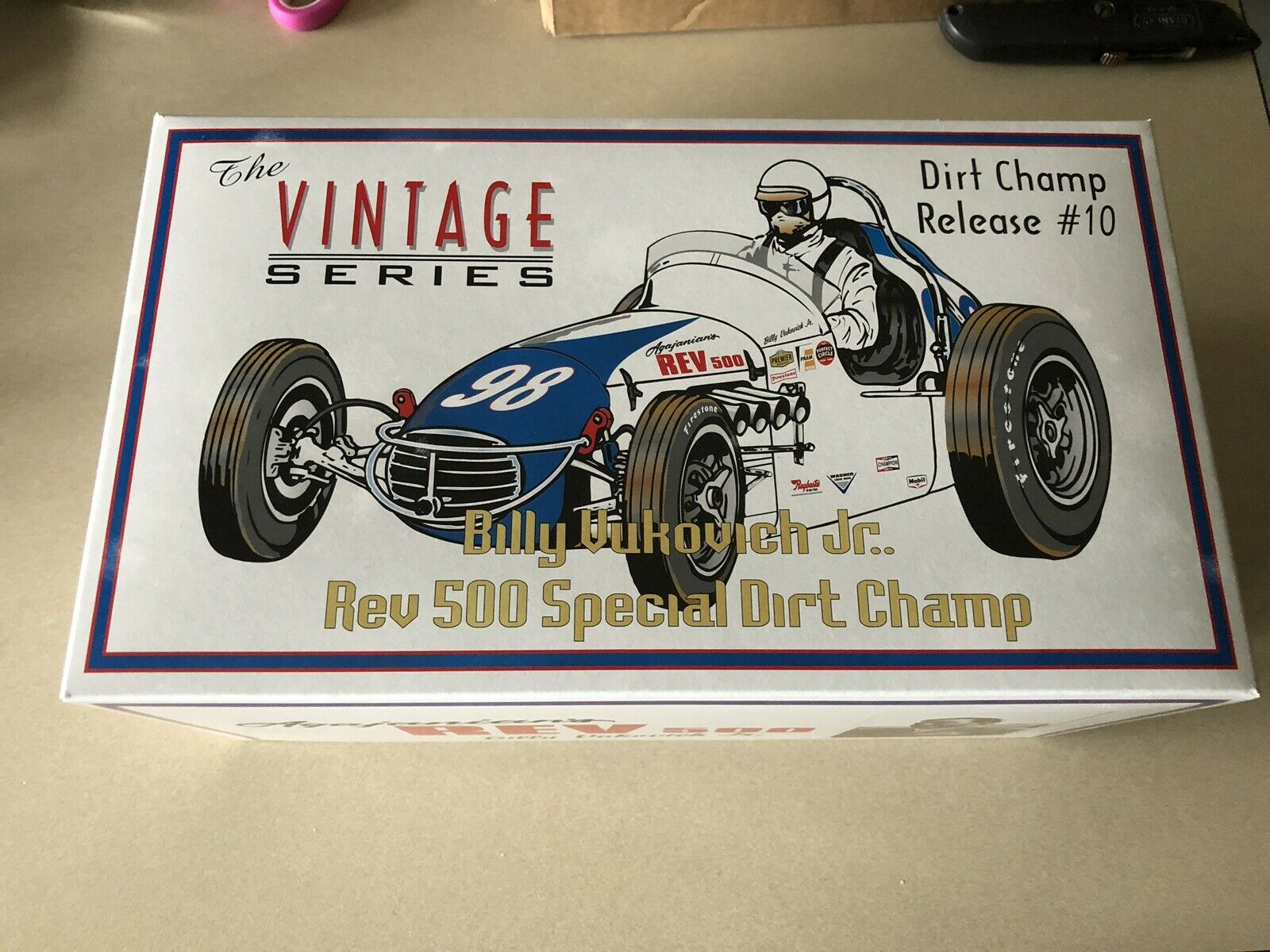 GMP Billy yukovich Jr. REV 500 Special Dirt Champ