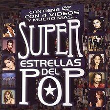 VARIOUS ARTISTS - SUPER ESTRELLAS DEL POP (NEW CD)
