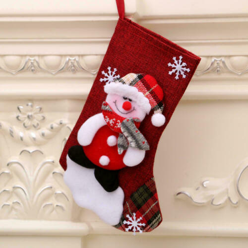 Details about  /Christmas Tree Hanging Tree Xmas Decor Santa Claus Stocking Sock Candy Bags Home