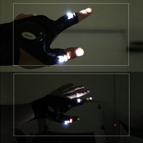 LED Outdoor Gear Rescue Night Fishing Tools Finger Glove Light Flashlight Tools