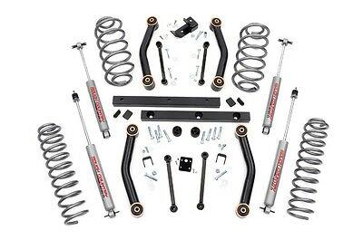 Jeep TJ Wrangler Rough Country N2 Series 4 inch Lift Kit - 90730