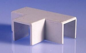 NEW-MINI-trunking-conduit-wire-cable-tidy-cover-16mm-x-16mm-x-16mm-Tee-T