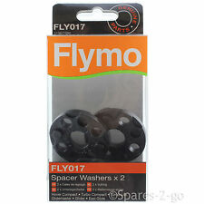 2 x FLYMO Minimo E25 E30 Lawnmower Spacer Washer FLY017 Genuine Spare Part