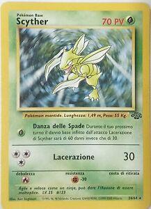 POKEMON-Scyther-26-64-Unlimited-Jungle-ITALIANO