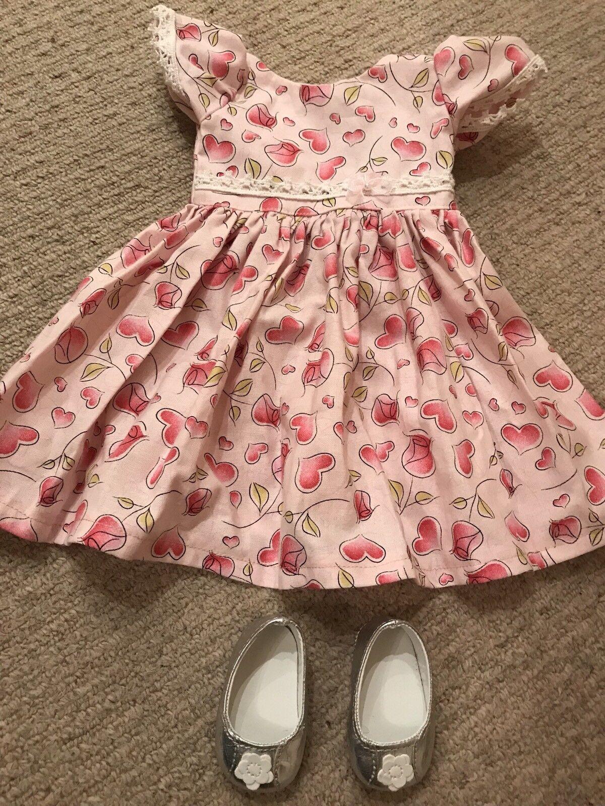 Bambole Abiti Vestito rosa a a a Cuori Abito, Sottoveste, scarpe, Maru & Amici, 52CM 94827b