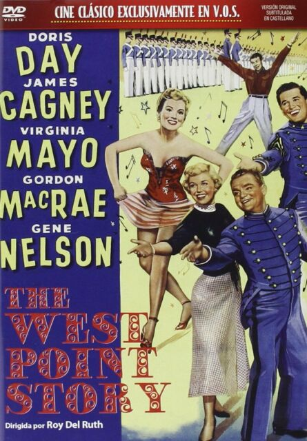 THE WEST POINT STORY (1950) - Doris Day, James Cagney NEW SEALED UK REGION 2 DVD
