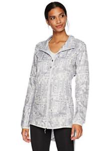 Adidas size Women's Running Supernova Tokyo Graph Jacket, Grey $120 size Adidas S, M 54ecb7