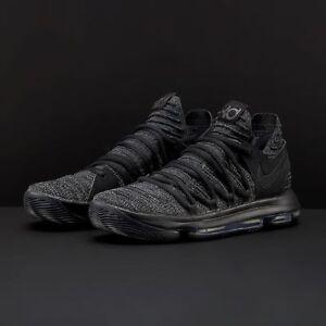 size 40 3fa20 fd9f0 Details about Nike Zoom KD 10 X Triple Black Size 14. 897815-004 Jordan Kobe