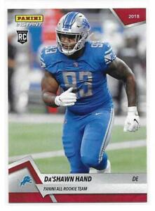 2018-Panini-Instant-NFL-All-Rookie-Team-Da-039-Shawn-Hand-Rookie-Card-1-of-576