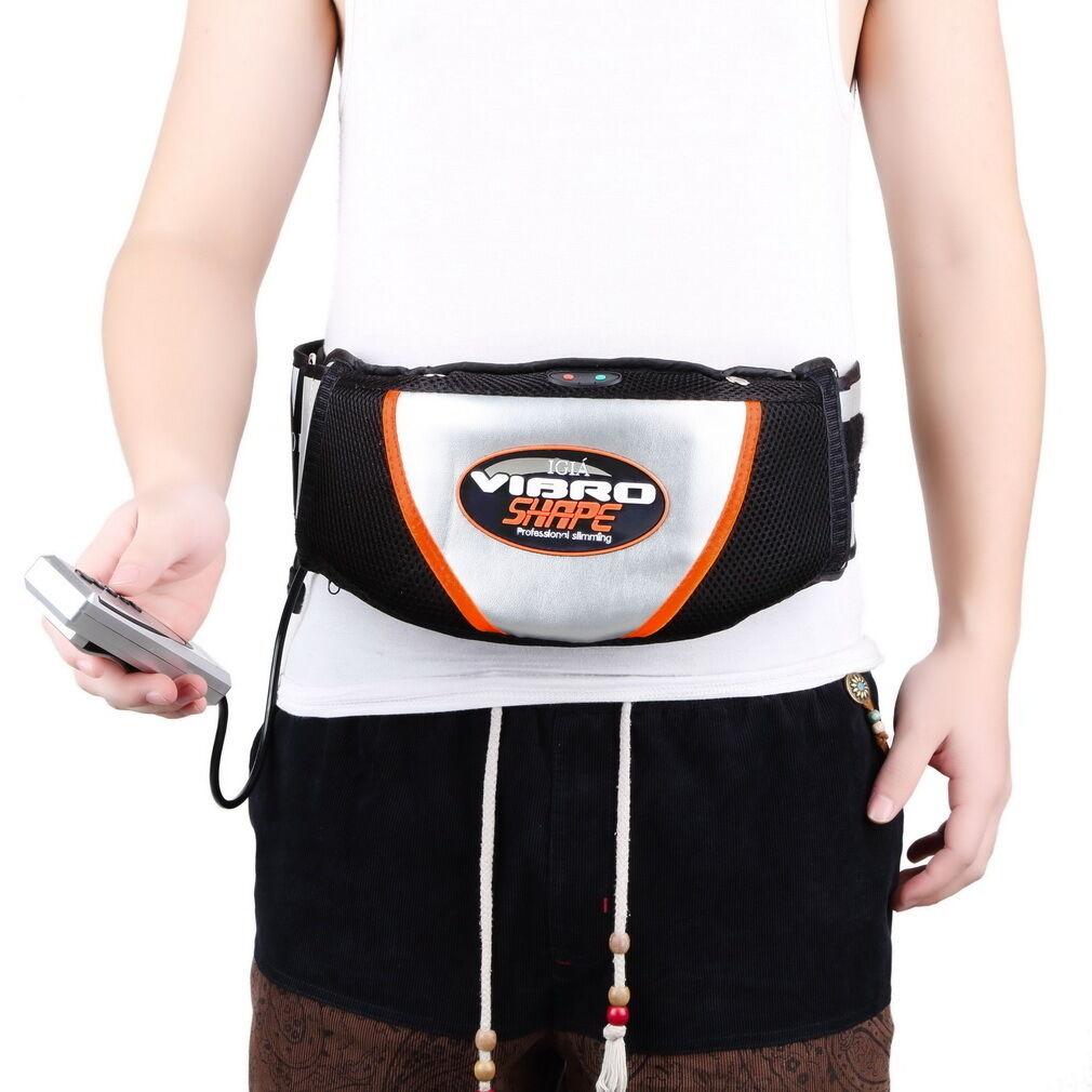 Massagegürtel Vibro Shape Bauchmuskeltrainer Vibroshape Massagegurt Belt DF