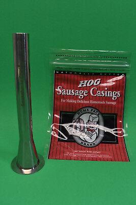 The Original Smokehouse Chef® Sausage Stuffer 7 Liter 16 lb size for hog casings