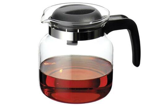 Glaskanne Matura 0,65 l Teekanne schwarz hitzebeständig spülmaschinengeeignet
