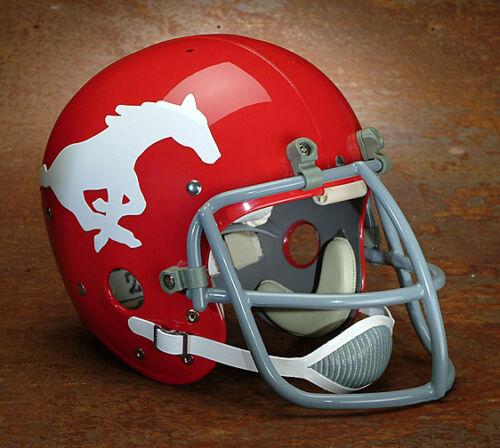 SMU MUSTANGS 1968-1972 Authentic GAMEDAY Football Helmet