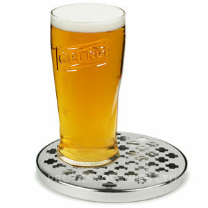 Stainless Steel Round Drip Tray 6 Bar Pub Drink Accessory