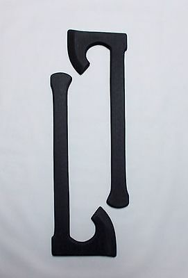 Tactical Viking Training Axe 2 Hatchet Black Ops Martial Arts Supply Trainer
