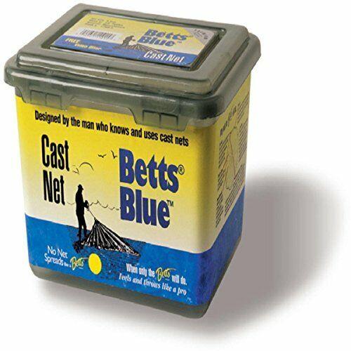 Betts bluee Cast Net 6' bluee 1Lb Per Foot 1 2  Mesh