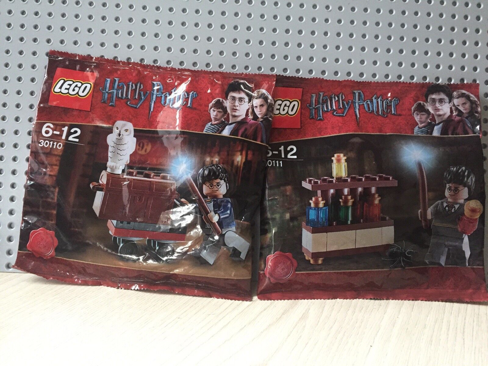 Lego Harry Potter sealed Poly Bags