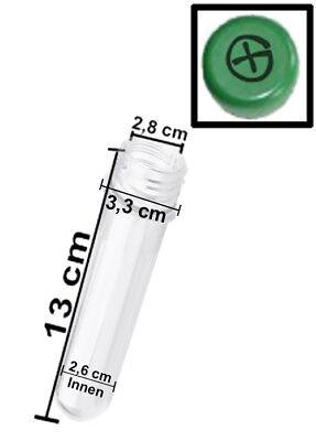 Optimal für Geocaching 10 x 13 cm Petling mit FTF Deckel GRÜN Preform Behälter
