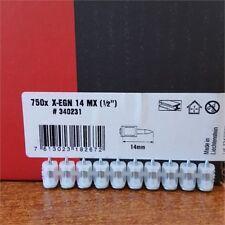 Gaskartusche GC 22 750x HILTI Gasnägel Nägel X-GN 27MX 27mm für GX 120 inkl
