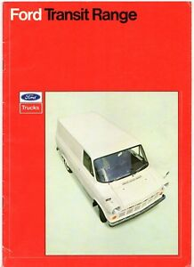 214c2af370 Ford Transit Mk1 1970 UK Market Sales Brochure Van SWB LWB Parcel ...
