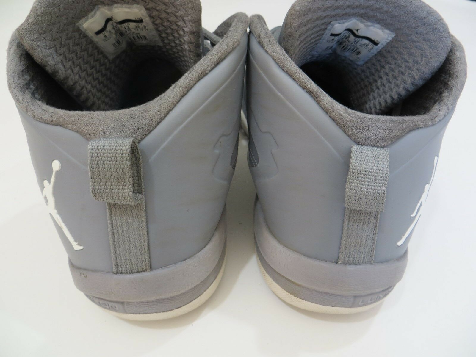 best service 92fa2 37f35 ... Jordan Fly Fly Fly Wade 2 EV Stealth White Gray sz 8.5 Nike Air Shoes  Mens ...