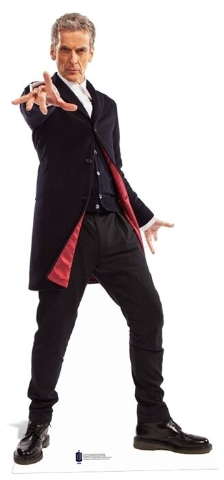 12th Doctor Who Peter Capaldi LifeGröße Cardboard Cutout Stand up decoration new
