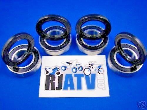 Yamaha YFM350 Grizzly 350 IRS 2007-2011 Front Wheel Bearings /& Seals Kit
