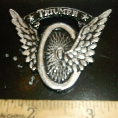 TRIUMPH MOTORCYCLE PIN Vintage NOS Bonneville Tiger Trophy Thunderbird T100
