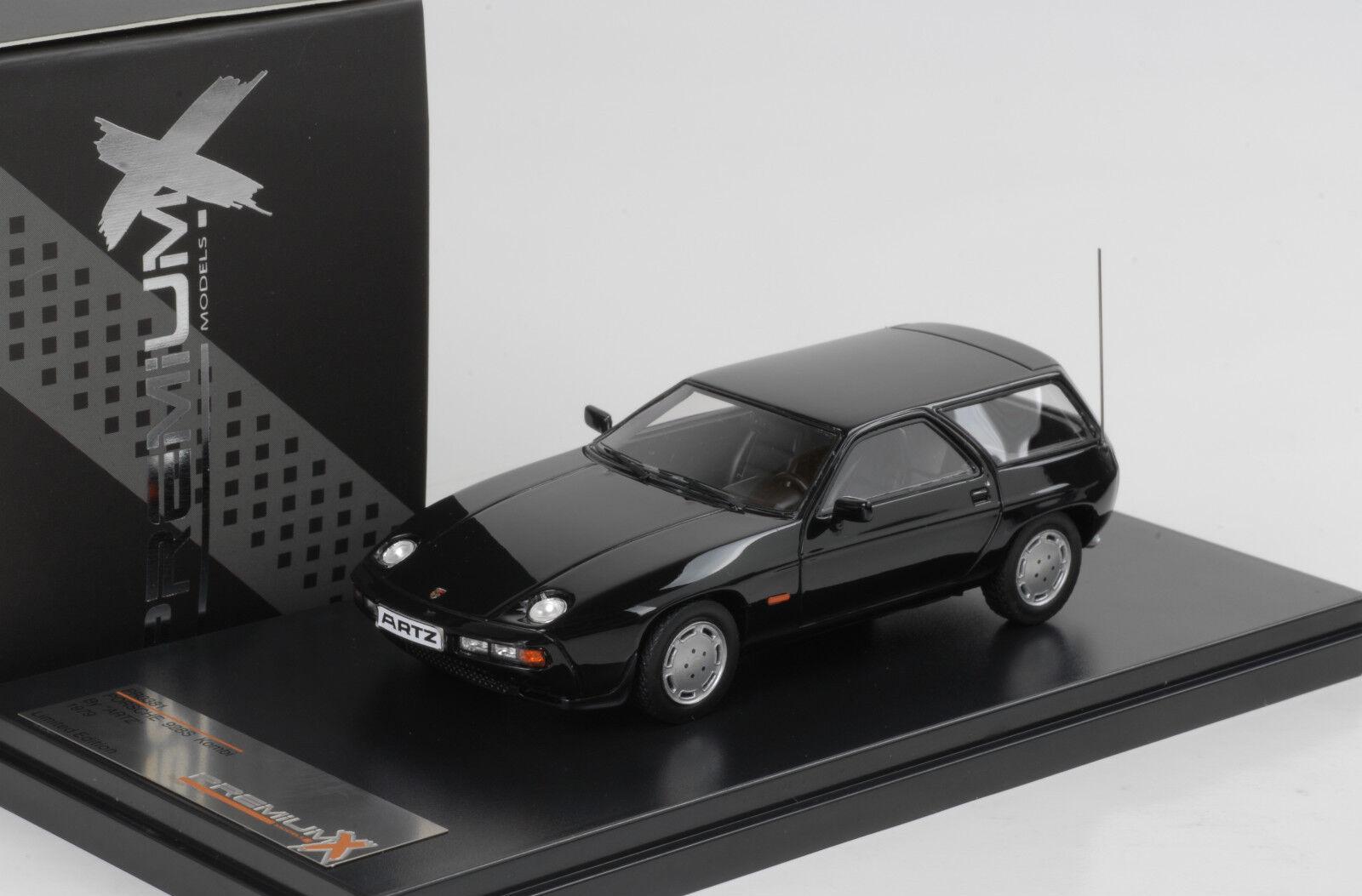 1979 Porsche 928 S Immobilier Break - Artz- Noir Noir 1 43 Premium X