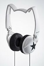 mix-style nekomimi headphones Star Cosplay Costume Cat Ear White F/S