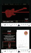 AXE - FOR MUSIC - POP YOUR LIFE - 57610