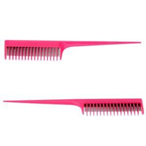 2PCS-Hair-Dress-Teasing-Volumizing-Back-Combing-Hair-Comb-3-Row-Teeth-8Inch