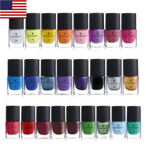25-Bottles-Set-BORN-PRETTY-Nail-Art-Stamping-Polish-Template-Painting-Manicure