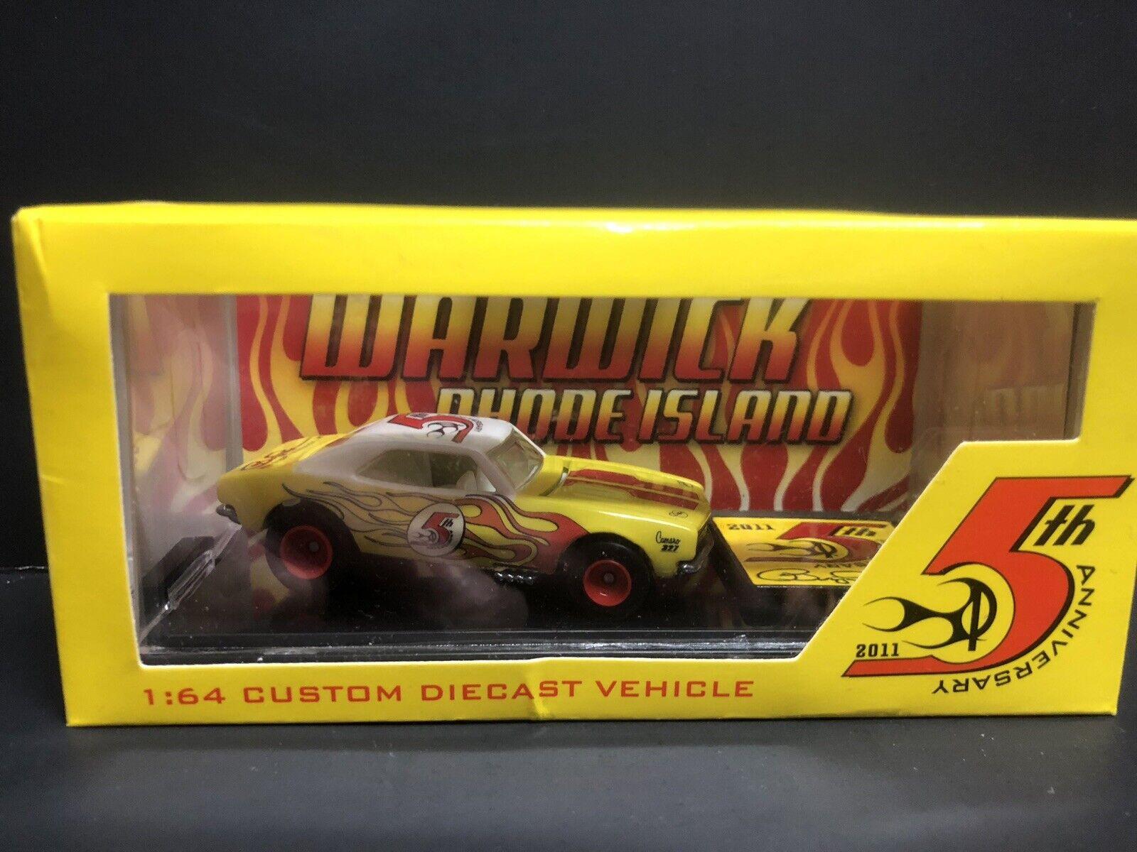 "Hot Wheels 67' Camaro ""5th Year Year Year Anniversary"" By Pope Designs  Rare f1d179"