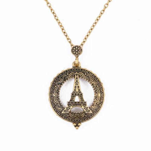 Loupe or collier pendentif loupe chaîne bijou Irlandais Cadeau VC