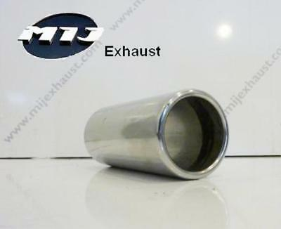 UNIVERSAL EXHAUST BACKBOX PIPE CONNECTOR SLEEVE JOINT ADAPTER 70MM  Saab