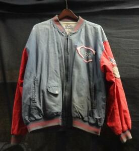 Vintage-Rare-Mirage-Chicago-Cubs-Jacket-Cooperstown-Collection-WOW