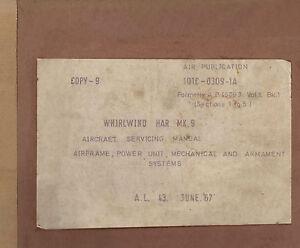 WESTLAND-WHIRLWIND-HAR-Mk-9-AIRCRAFT-SERVICING-MANUAL-A-P-101C-0309-1A