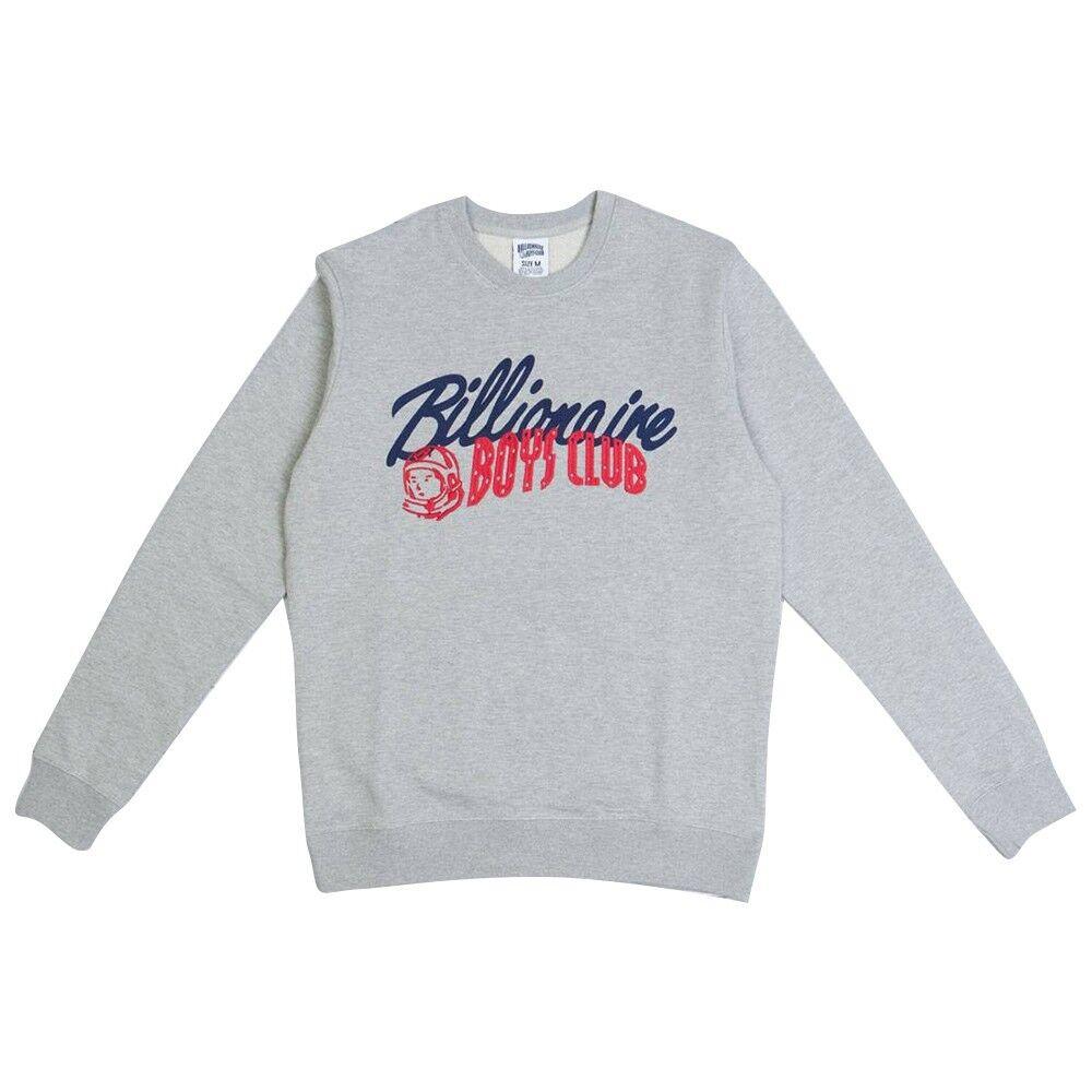 109.99 Billionaire Boys Club Men Phase 1 Crew Sweater grau heather