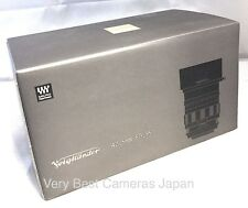 New VOIGTLANDER NOKTON 42.5mm f/0.95 MF Lens for Micro Four Thirds Cosina