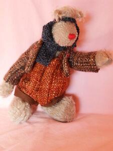 Künstlerteddy Bär Bear Teddybär  ALFRED   Zwergnase Nicole Marschollek-Menzner