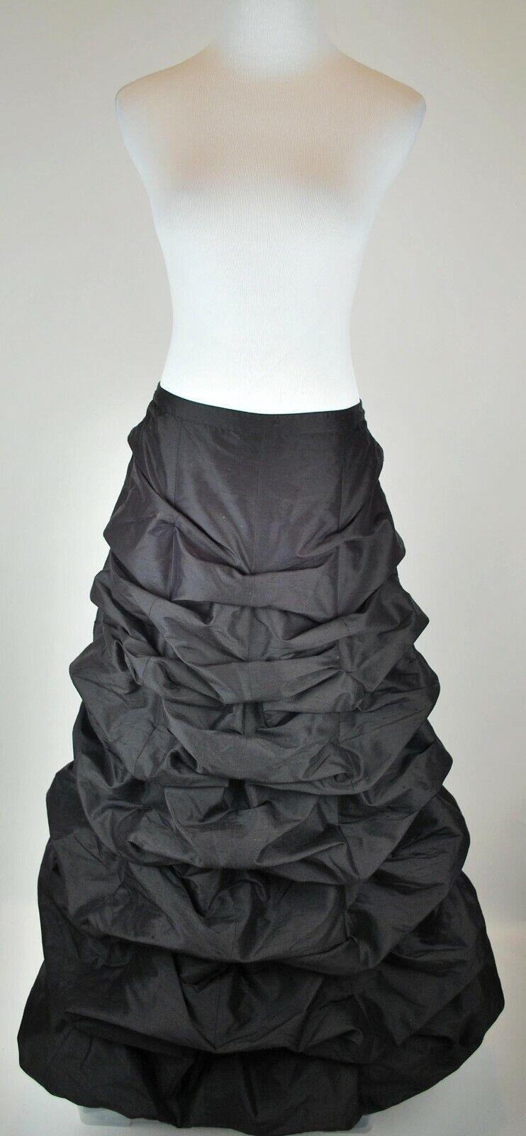 Gothic Balloon Skirt Bustle Gathered Steampunk Vi… - image 1