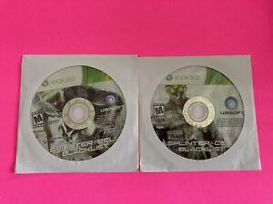 🔥 MICROSOFT XBOX 360  - 💯 WORKING GAME  DISC ONLY 🔥 SPLINTER CELL BLACKLIST