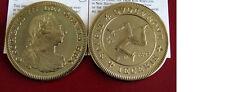 1808 Isle of Man Large Golden Alloy Fantasy 5 Shillings George III