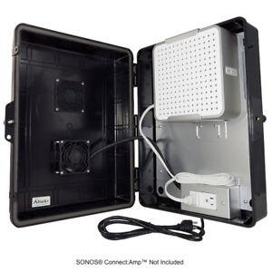 Altelix Weatherproof Outdoor Boîtier Pour Sonos Connect Amp - 4 Couleur Choix-afficher Le Titre D'origine Service Durable