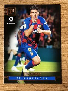 2019-20 Chronicles Soccer Panini Base #425 Luis Suarez - FC Barcelona
