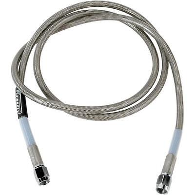 66in R58322S Russell Universal Braided Stainless Steel Brake Line