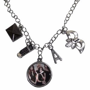 Pretty Little Liars Glass Dome Pendant Necklace With 4 ...
