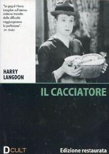 Dvd-video-IL-CACCIATORE-Edizione-Restaurata-di-Harry-Langdon-nuovo-1928